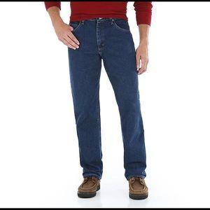 Wrangler Men's 36x32 Relaxed Fit Jeans